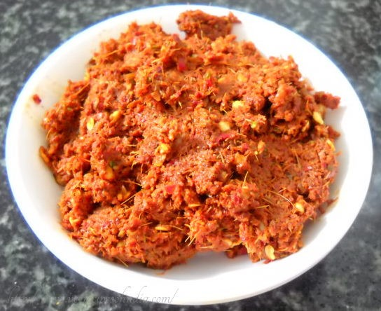 veg thai red curry paste