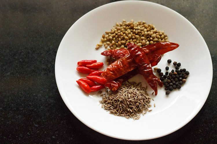 making Thai red curry recipe