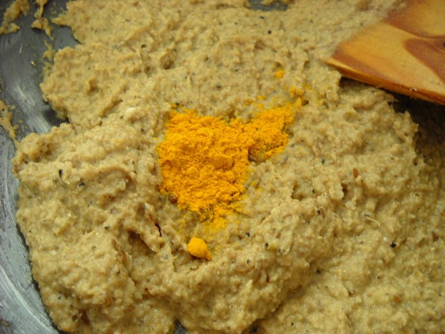 turmeric to make baingan masala recipe