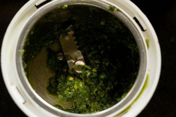 paste for chana pulao recipe