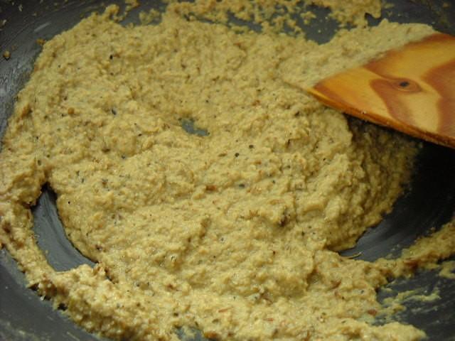 bagara baingan masala paste after 15 mins