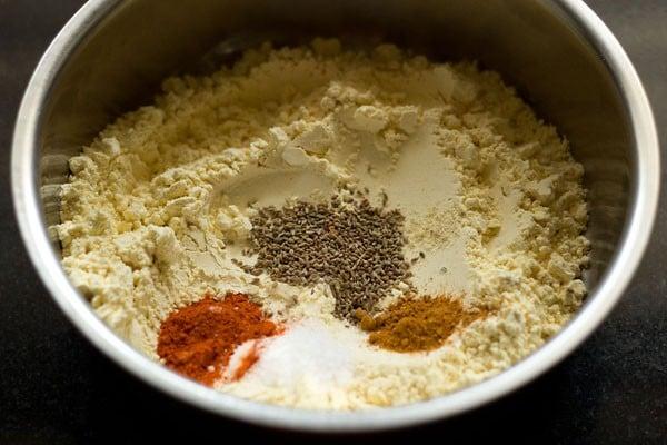 ingredients for bread pakora recipe