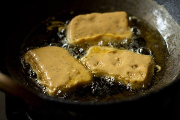 frying bread pakora recipe