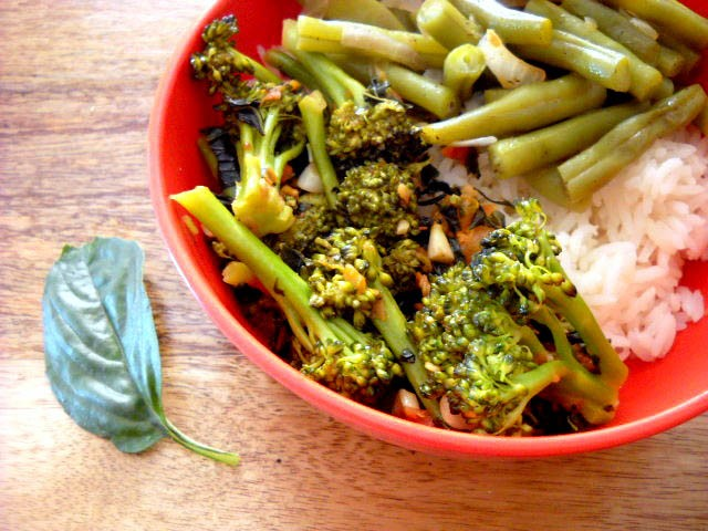 broccoli basil recipe