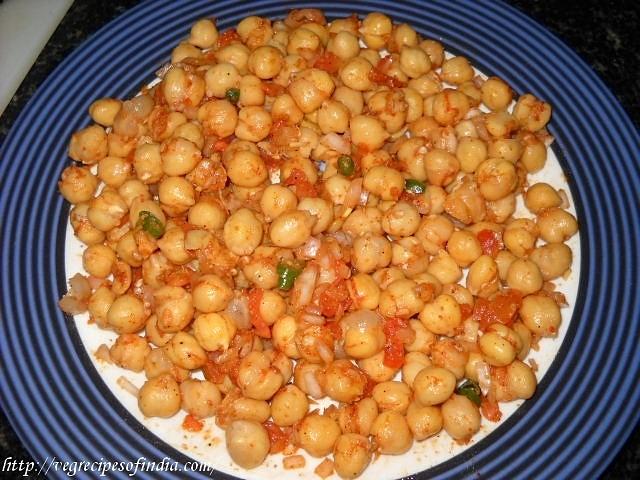 chana to make chana chaat recipe