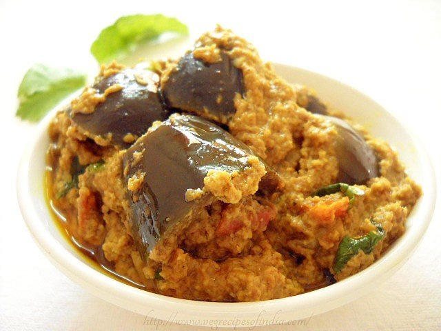 how to cook baby eggplant indian