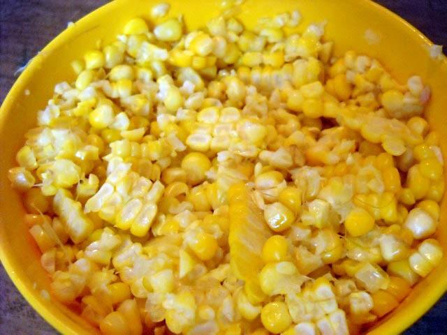 corn for corn palak recipe