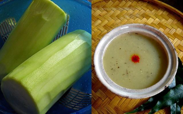 lauki soup recipe, bottle gourd soup