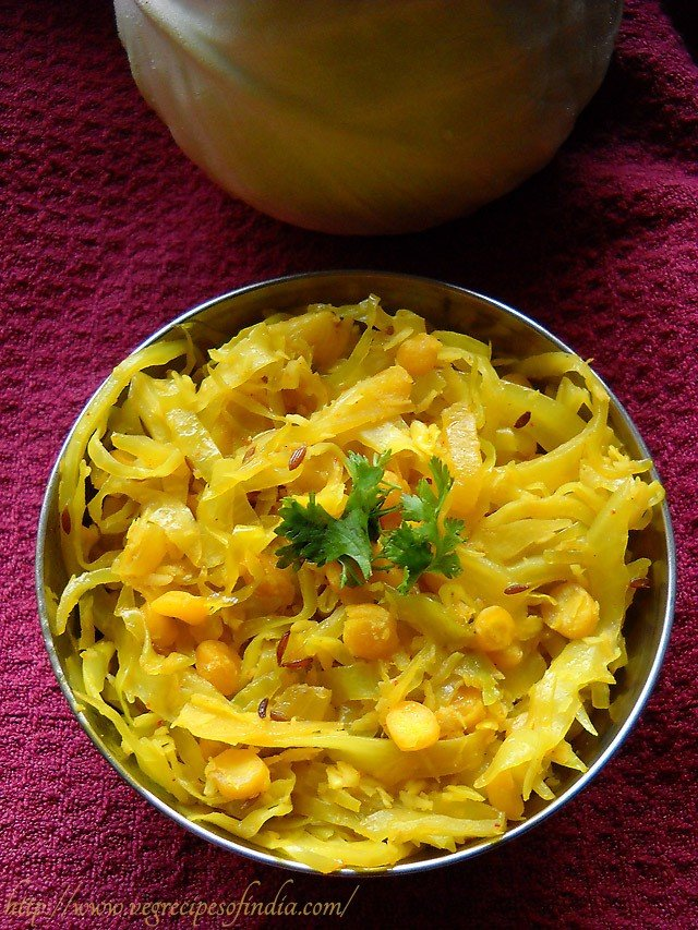 cabbage-with-chana-dal