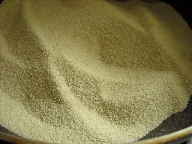 sooji for saffron suji halwa recipe