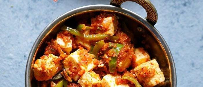 kadai paneer recipe, how to make kadai paneer restaurant style