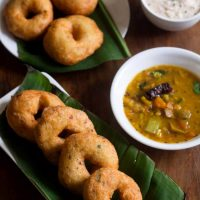 medu vada recipe, how to make medu vada recipe | sambar vada recipe
