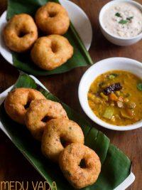 medu vada recipe, how to make medu vada recipe | sambar vada recipe