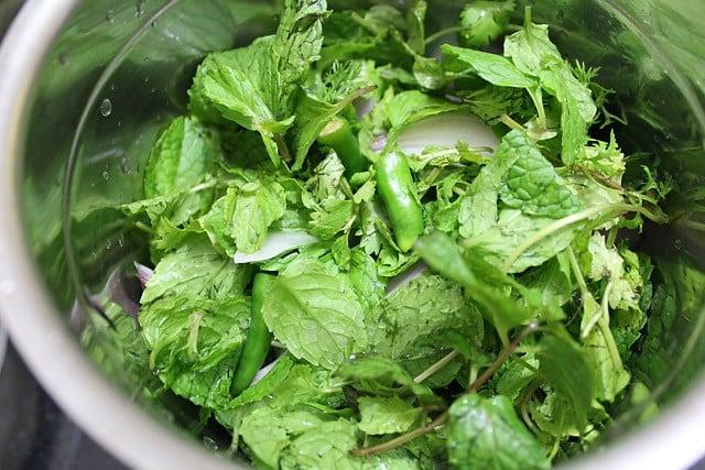 mint chutney for tandoori recipes