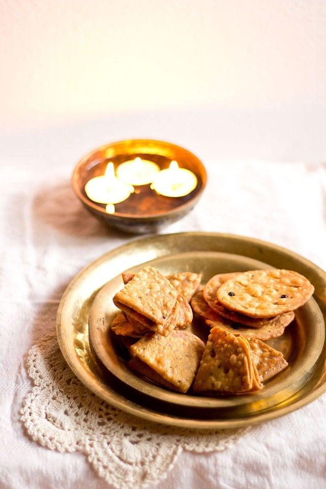 punjabi mathri recipe, mathri recipe