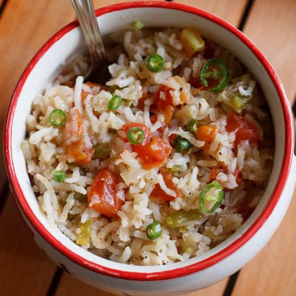 spanish fried rice