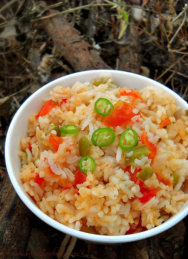 spanish rice recipe, how to make spanish rice recipe | rice recipes