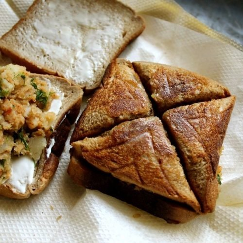 aloo toast sandwich recipe