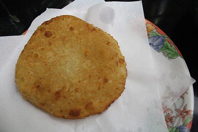 frying potato bhatura