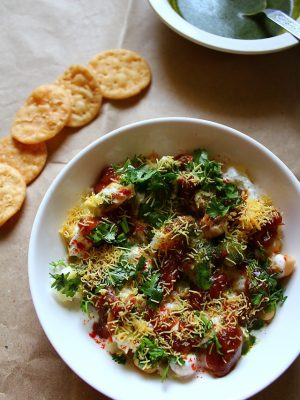 papdi chaat recipe | papri chaat recipe | how to make papdi chaat