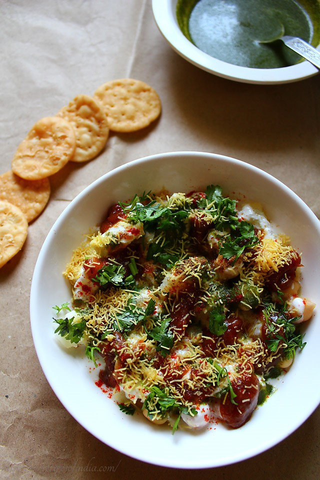 papdi chaat: delhi papdi chaat, papdi chaat recipe