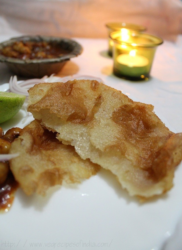punjabi bhatura with chole
