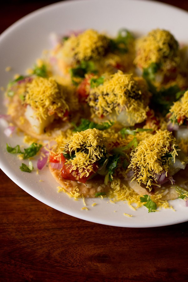 sev puri recipe