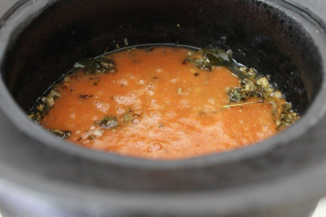 tomato puree for tomato rasam recipe