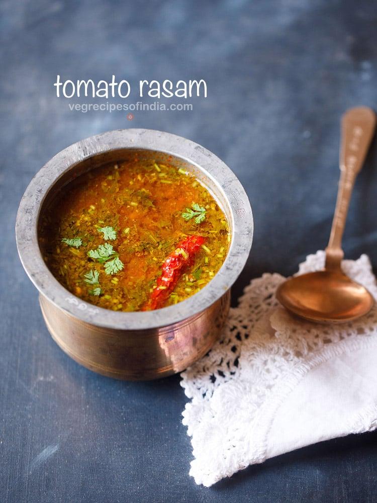 tomato rasam, tomato rasam recipe
