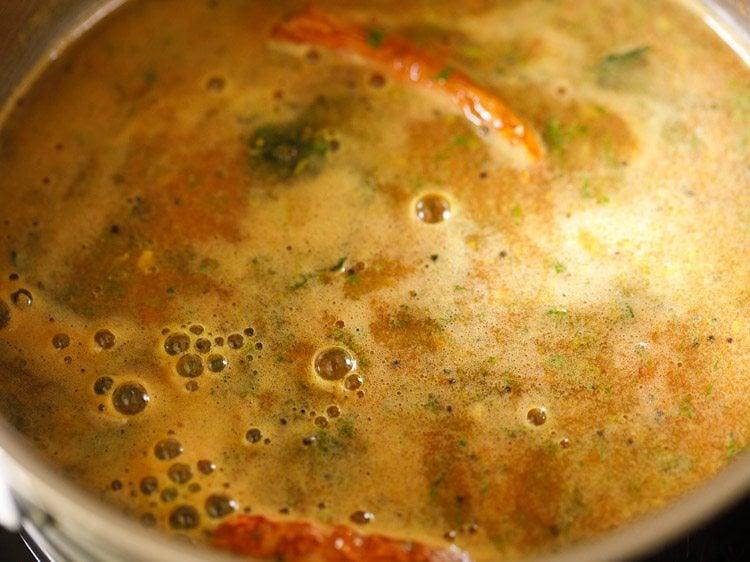 tomato rasam recipe, thakkali rasam recipe