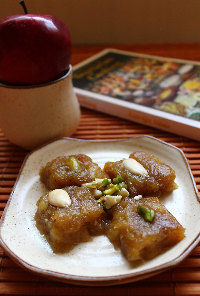 apple halwa, apple halwa recipe