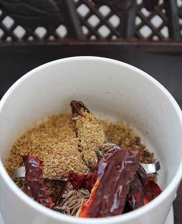 ingredients for dabeli recipe