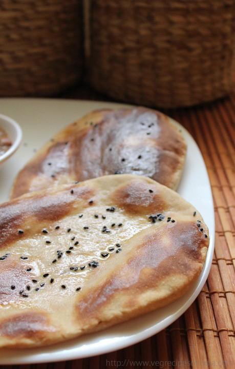 wheat flour naan