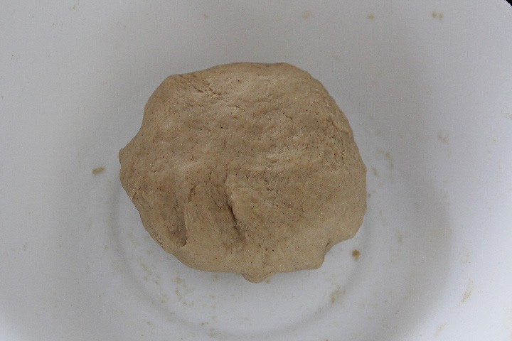 dough for whole wheat naan