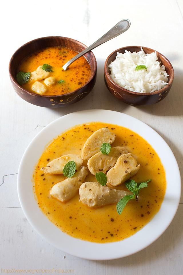 dahi arbi recipe – how to make dahi arbi recipe for fasting