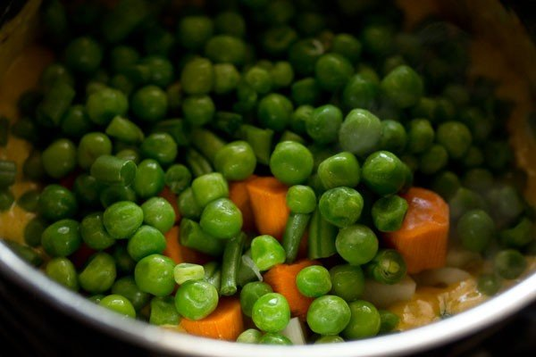 veggies for navratan kurma recipe