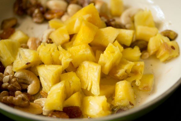 pineapple for navratan korma recipe