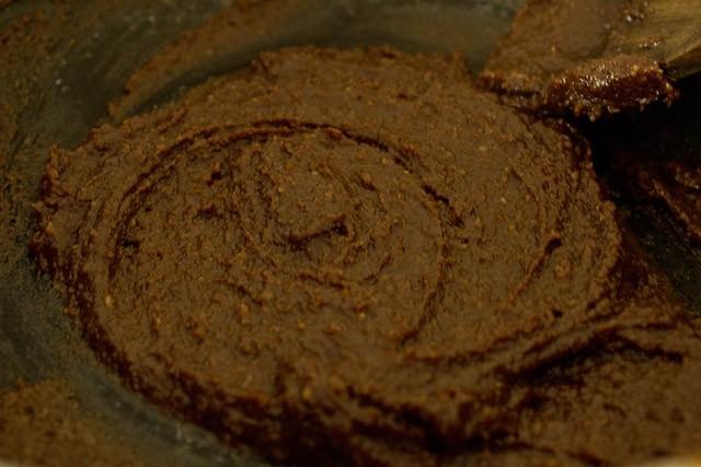 chocolate marzipan mixture