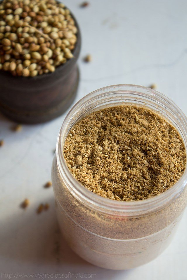coriander powder, dhania powder