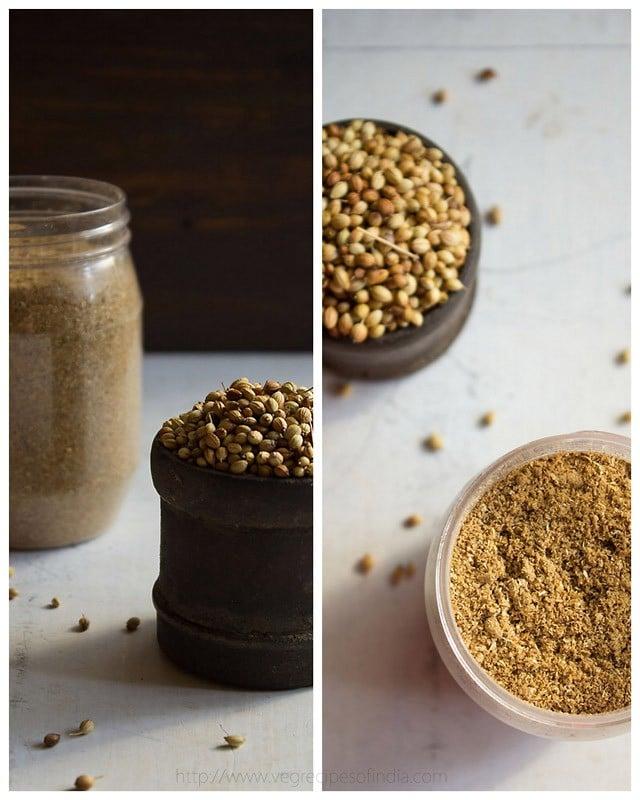 coriander powder masala recipe