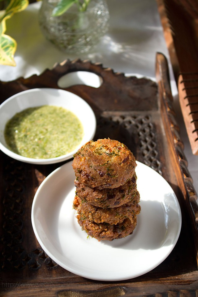 falafel recipe, how to make falafel recipe with cooked ...