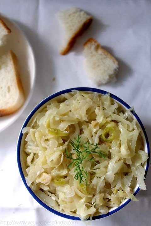 Cabbage foogath recipe goan style steamed cabbage with coconut forumfinder Images
