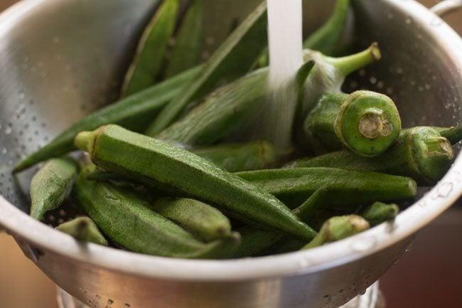 bhindi for bhindi bhaji recipe