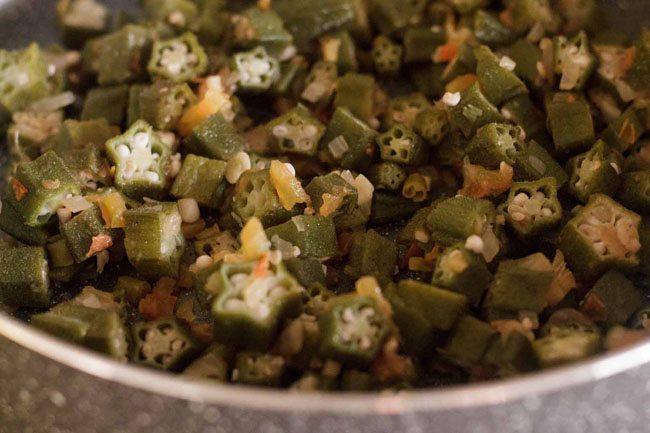 cooking mergol de quiabos