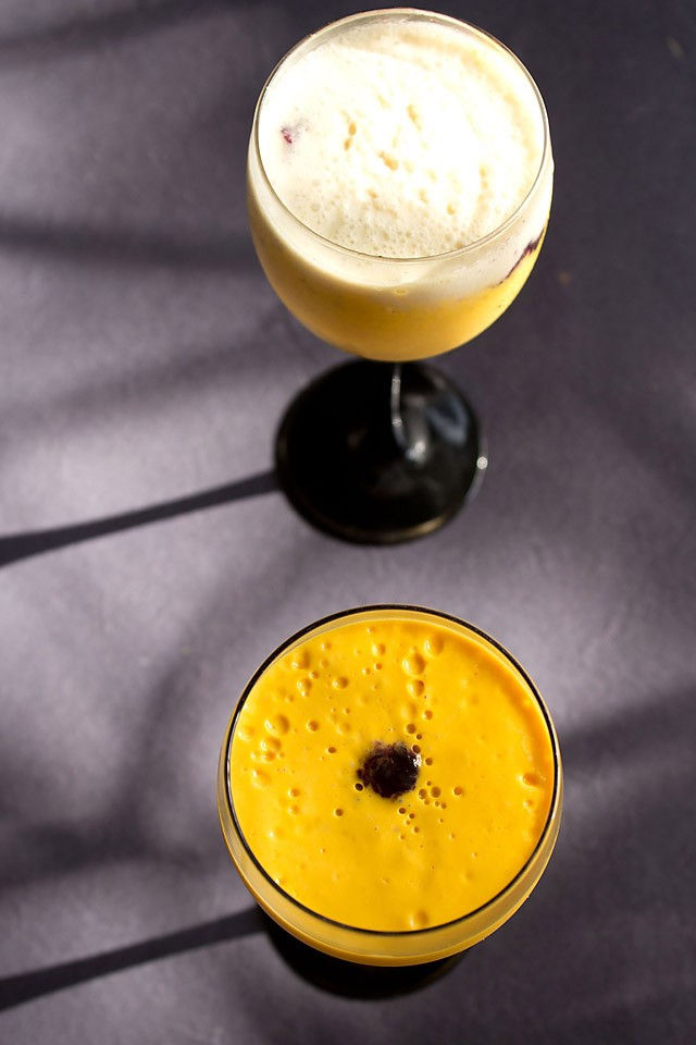 mango mousse recipe, how to make quick mango mousse recipe
