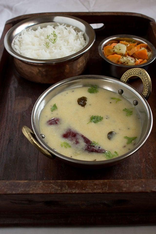 Gujarati kadhi: Gujarati kadhi recipe, easy Gujarati kadhi