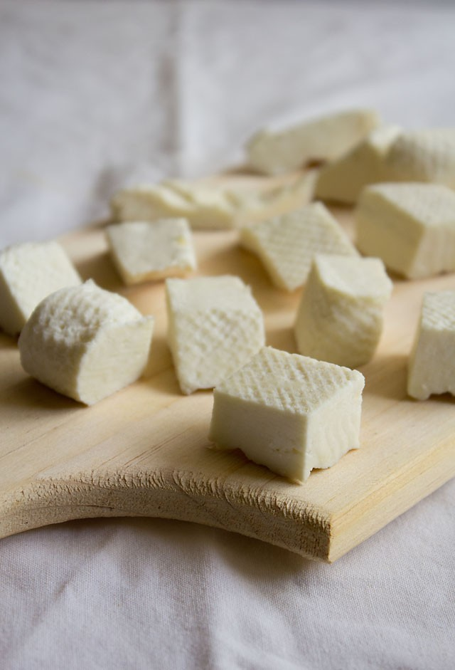 how to make paneer: homemade paneer, how to make homemade paneer