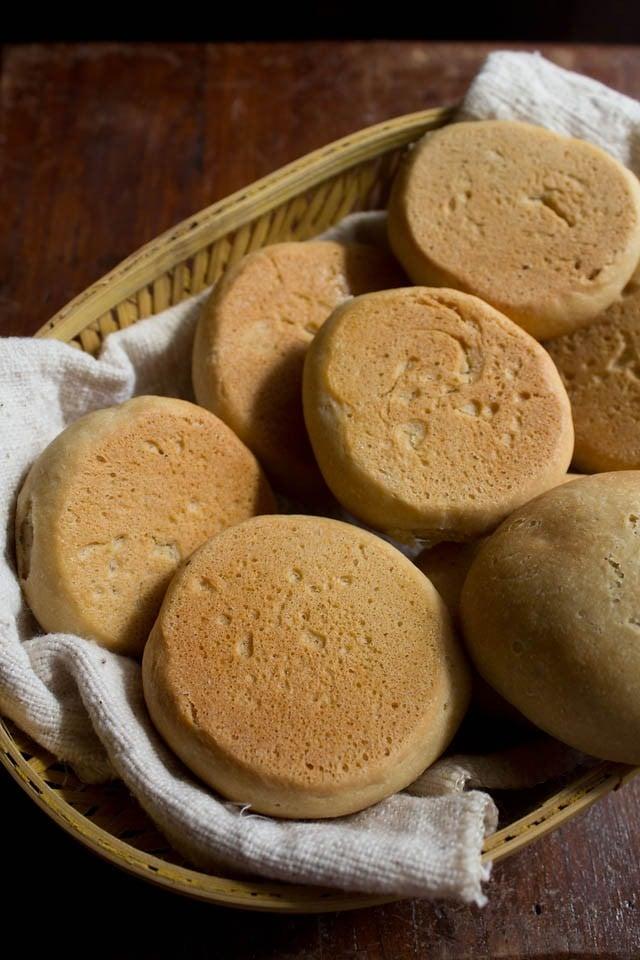 pav or Indian bread dinner rolls