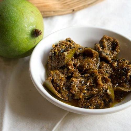 mango pickle recipe, aam ka achar recipe