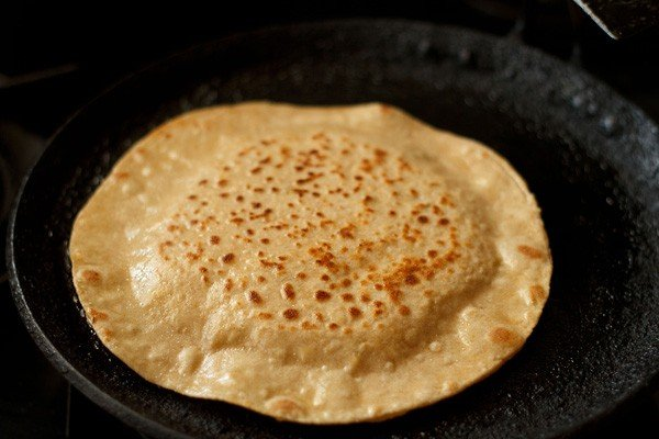 flip - how to make paneer paratha recipe